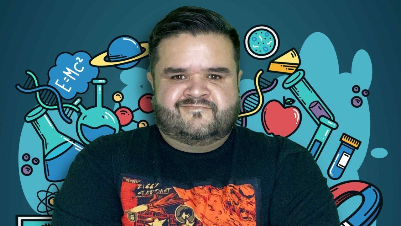 Rafa Carbajal, el científico que ama los vochos y explica tu comida en Tiktok