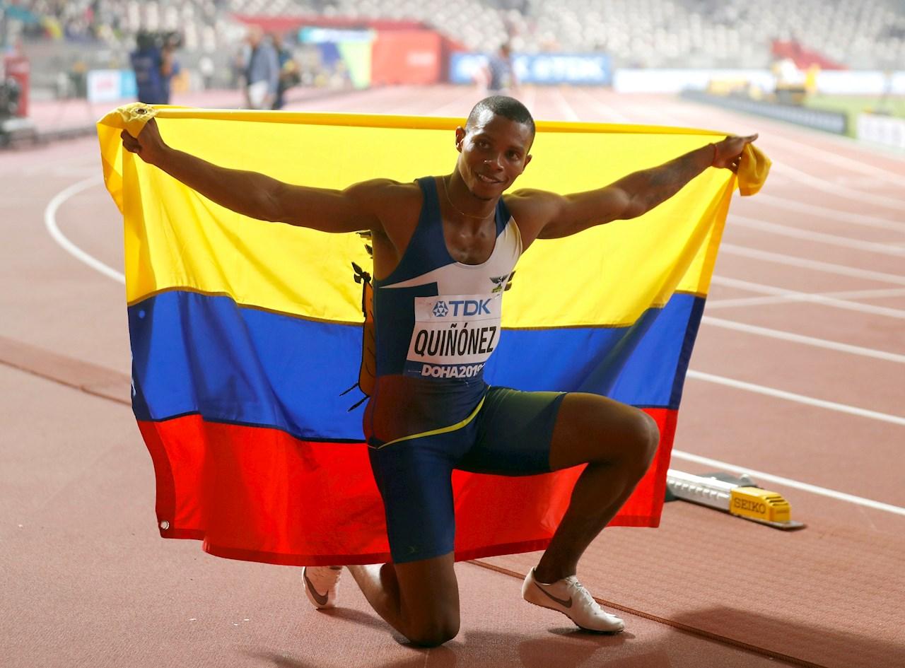 El atleta ecuatoriano Alex Quiñónez, finalista en Londres 2012, fue asesinado a tiros