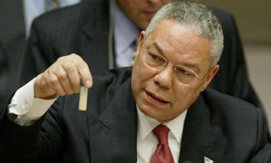El discurso de Colin Powell en la ONU: un momento decisivo para socavar la credibilidad de EU