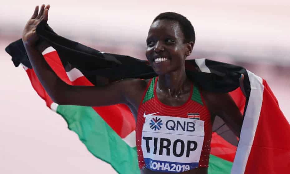 Agnes Tirop: la atleta poseedora del récord mundial es hallada muerta mientras la policía de Kenia busca a su esposo