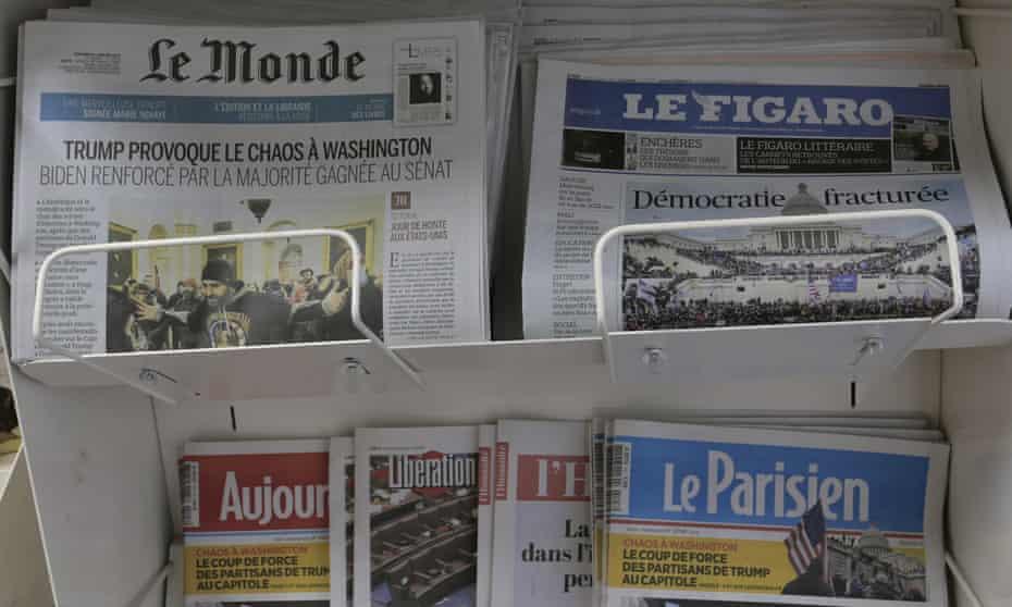 Facebook acepta pagar a los periódicos franceses por sus contenidos