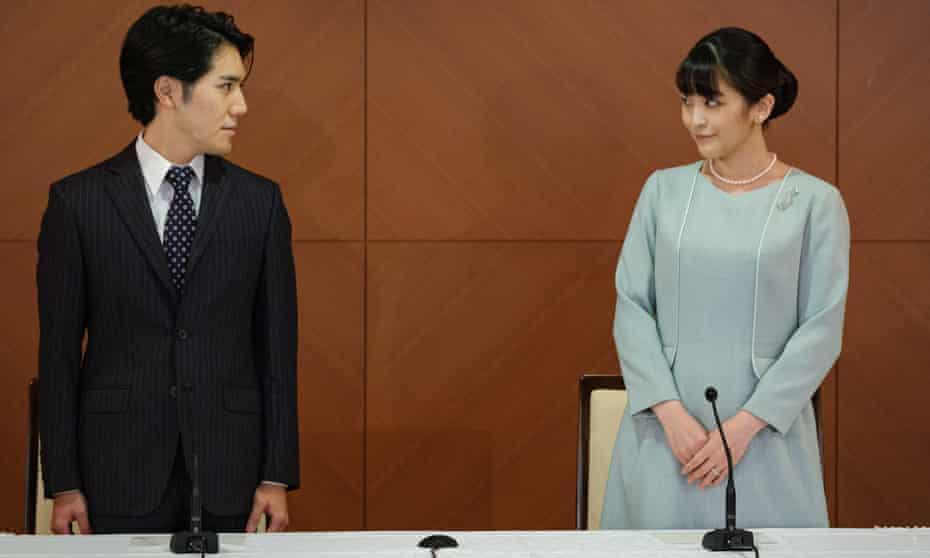 La princesa Mako de Japón se casa y pierde su estatus real