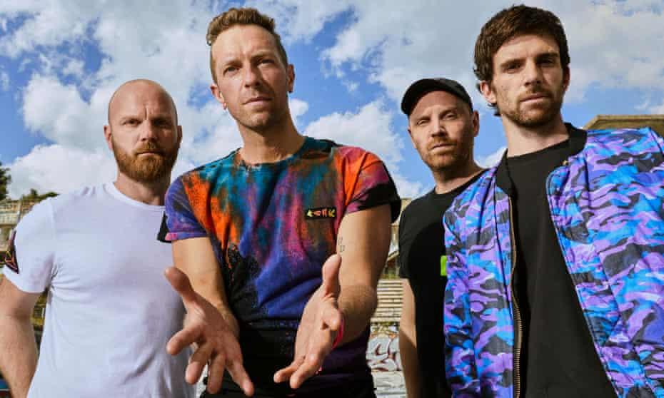 Coldplay promete reducir 50% las emisiones de CO2 en su gira mundial de 2022