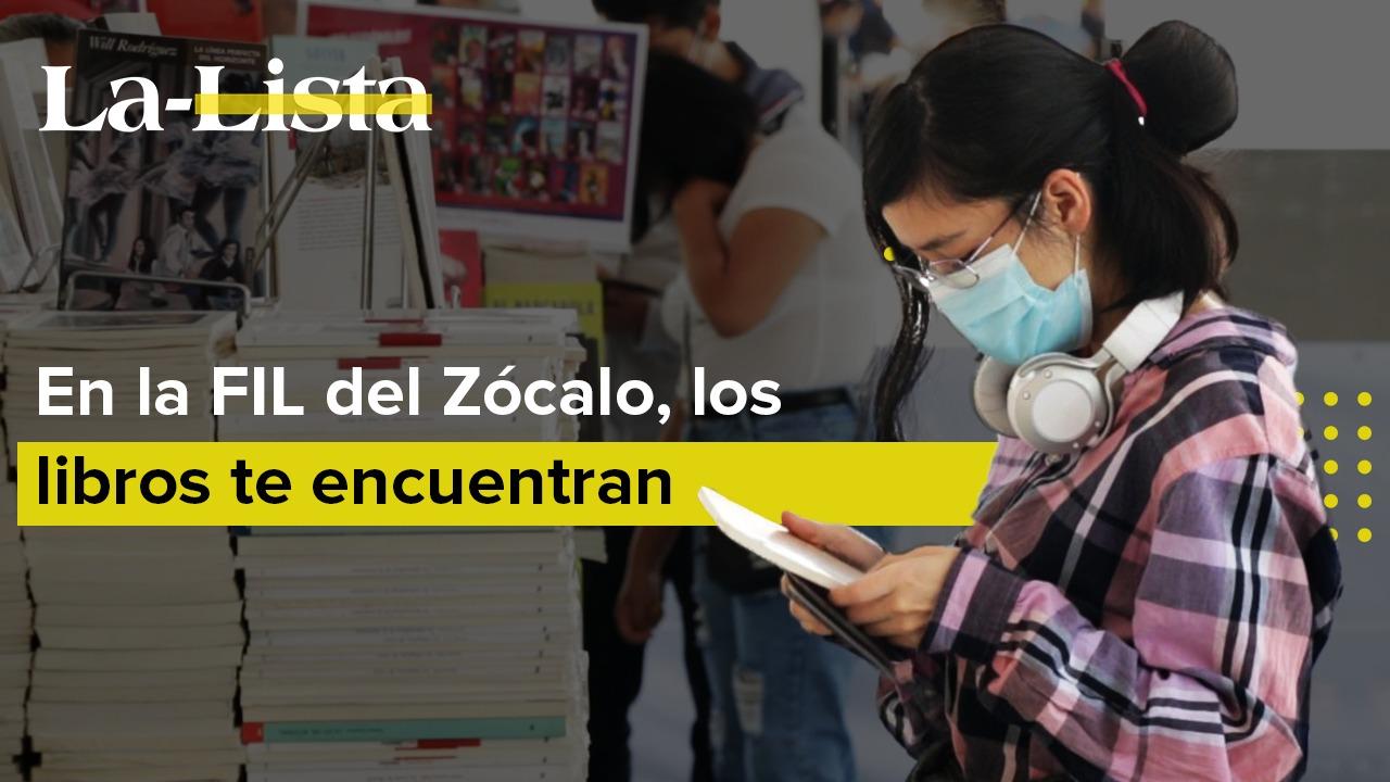 En la FIL del Zócalo, los libros te encuentran