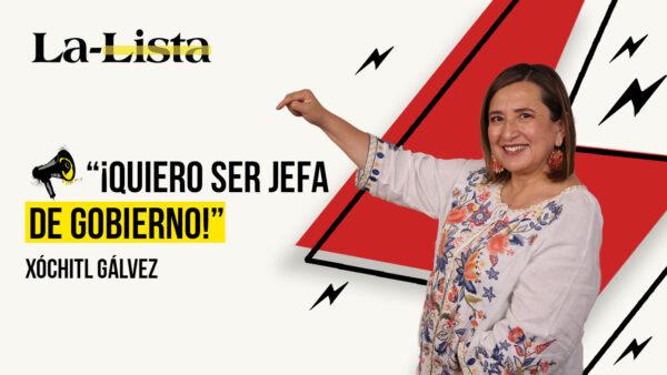 Xóchitl Gálvez: 'Vamos a tener una mujer presidenta'
