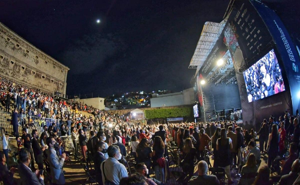 El festival Cervantino 2021 arranca en la Alhóndiga de Granaditas