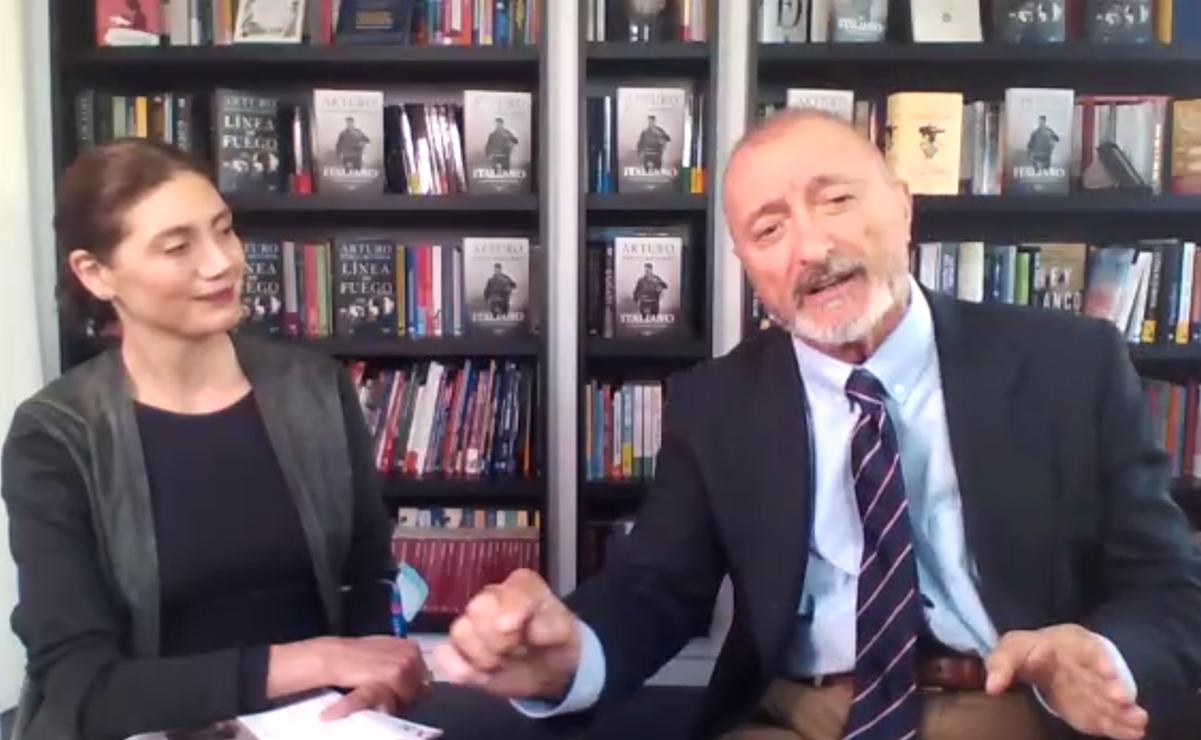 Arturo Pérez-Reverte: No pretendo mejorar al mundo, no soy un apóstol