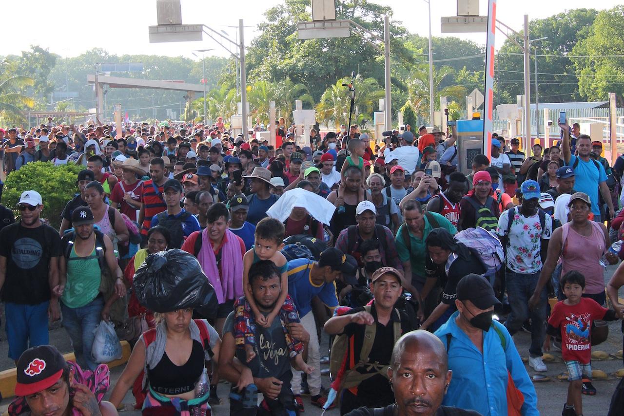 Organización denuncia asesinato de dos migrantes haitianas en Chiapas