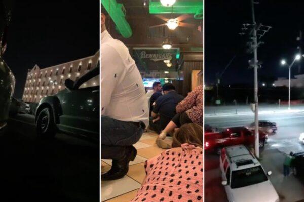 Reportan balacera, enfrentamientos y bloqueos en Matamoros, Tamaulipas
