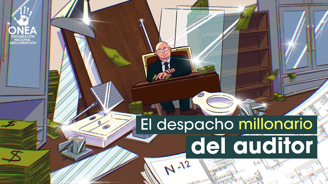 El despacho millonario del auditor David Colmenares: gastó 4 mdp en remodelaciones