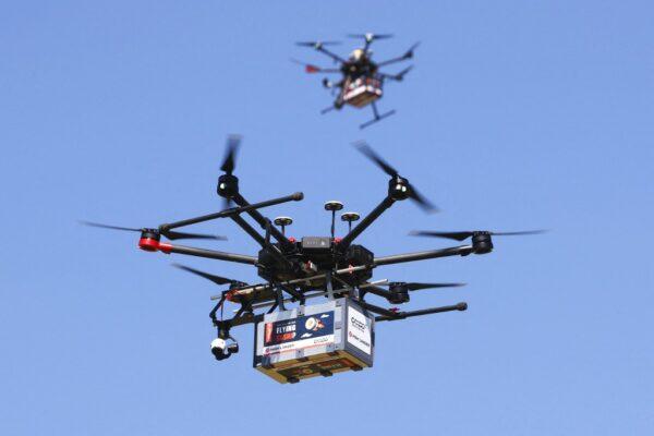 ¿Sushi y cerveza desde el cielo? Israel afina entregas a domicilio con drones