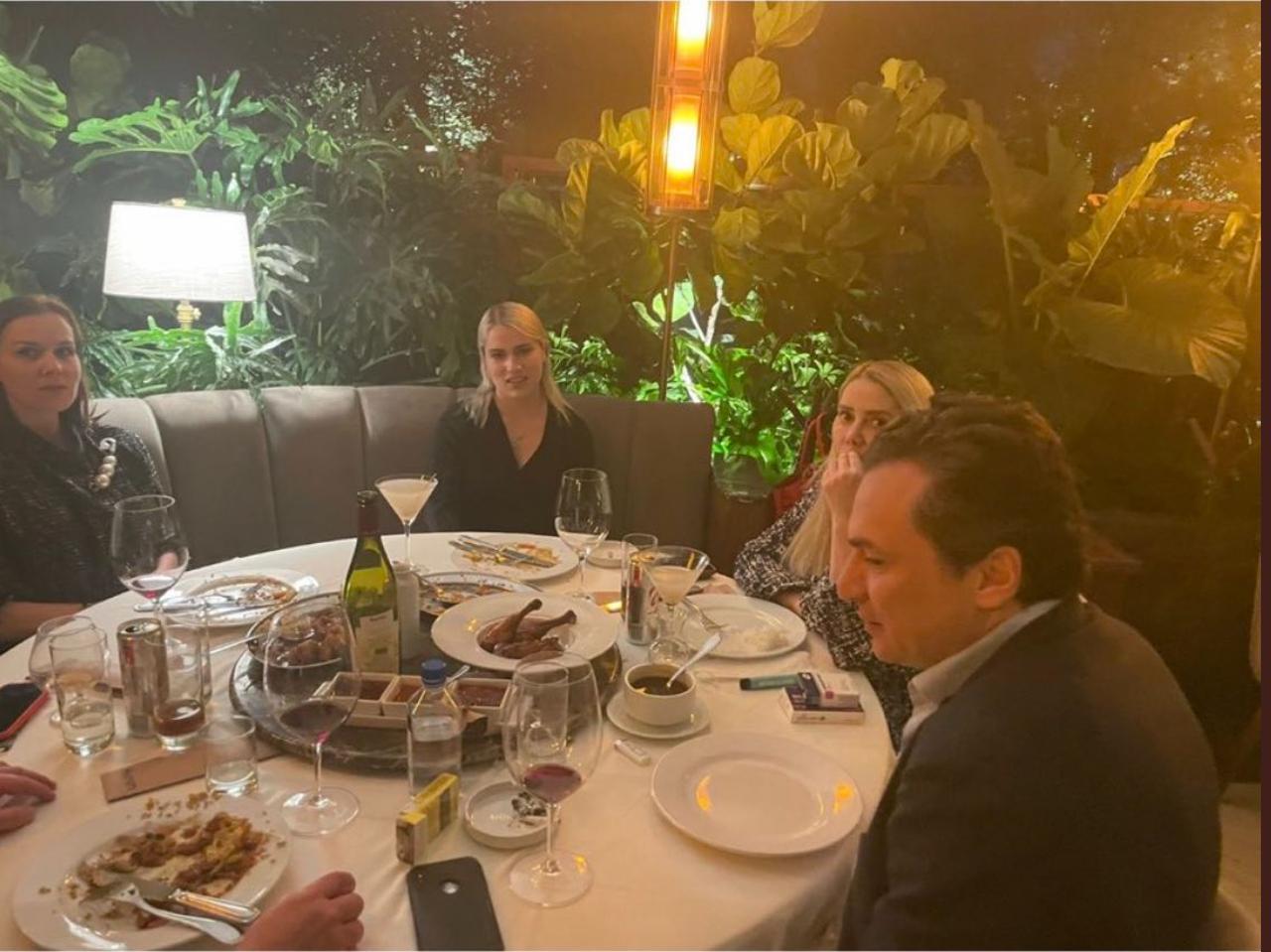 La cena de Emilio Lozoya causa 'agruras' al gobierno de AMLO