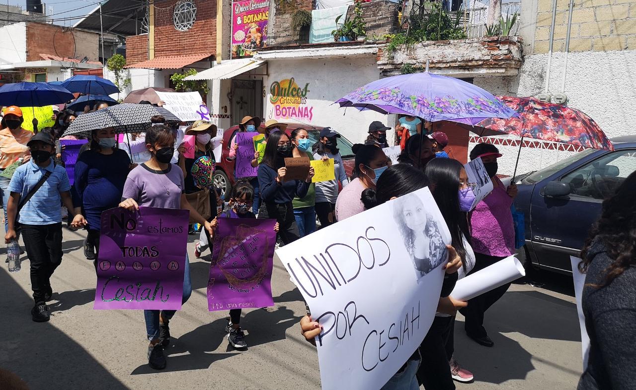 El feminicidio de Cesiah provoca indignación y exigencia de justicia en Tláhuac