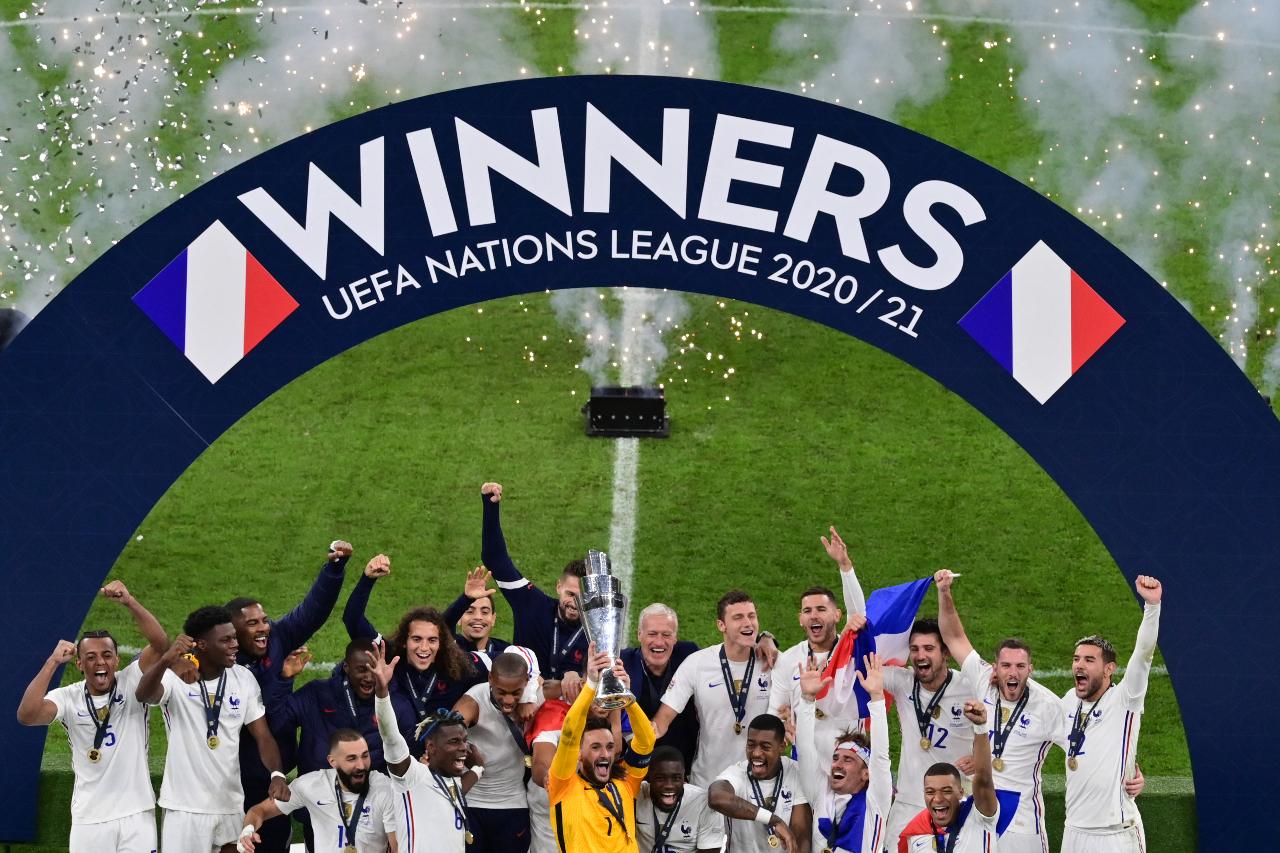 Francia vence 2-1 a España se corona en la Nations League