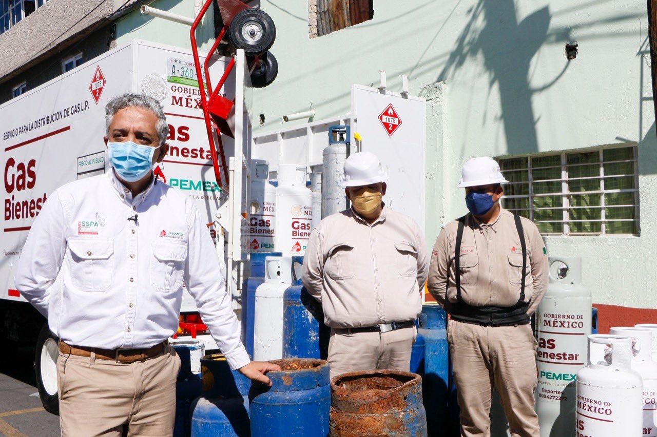 El Gas Bienestar llega a Azcapotzalco y así será su operación
