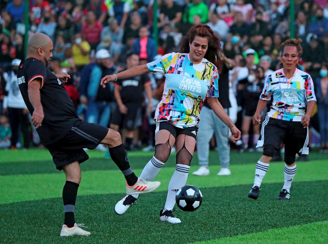 Las Gardenias, el equipo de futbol de mujeres trans de Tepito