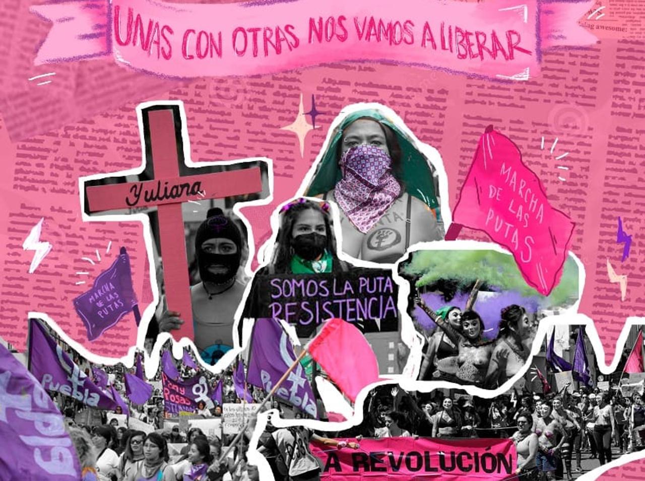 'La marcha de las putas': puntos de salida en Puebla y CDMX