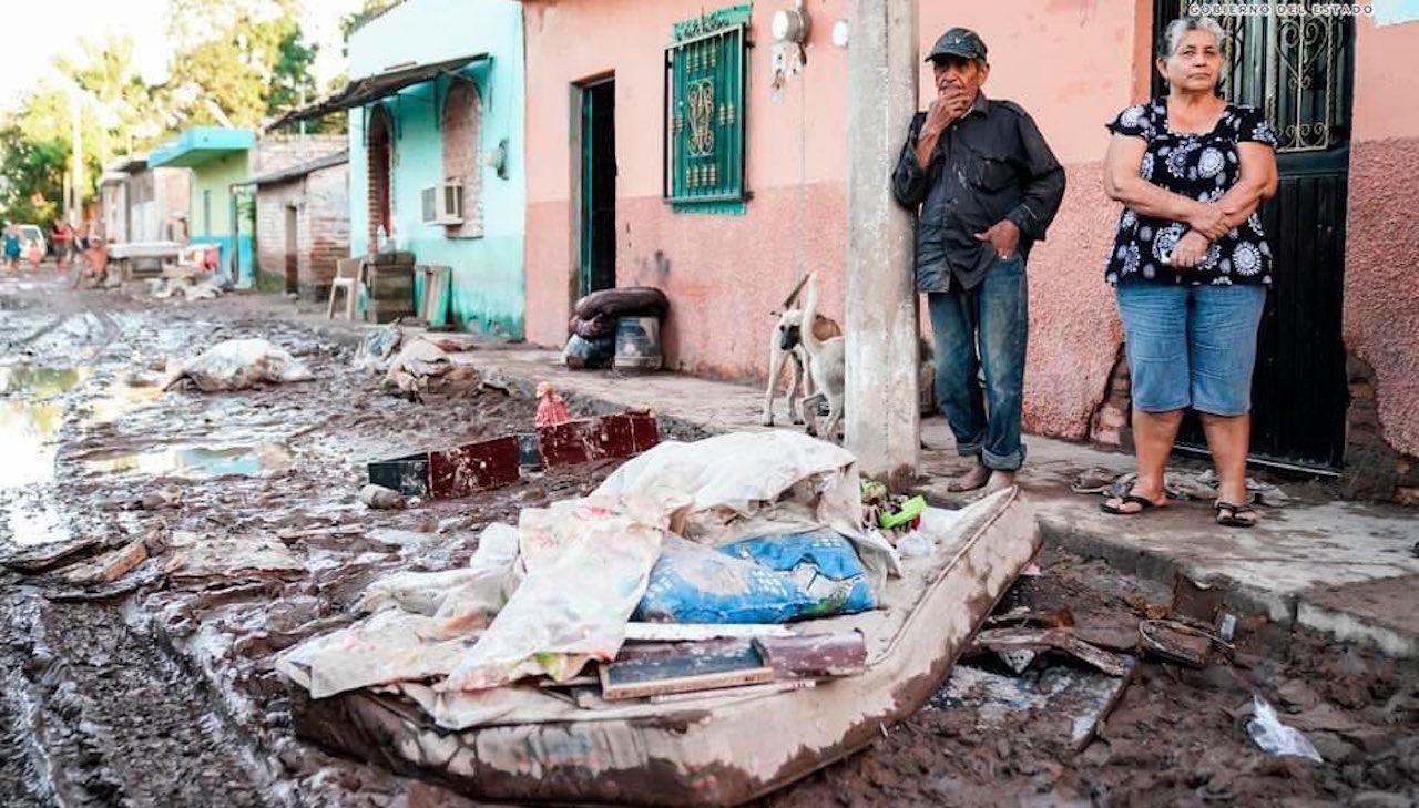 El huracán 'Pamela' deja más de 9 mil damnificados en Nayarit