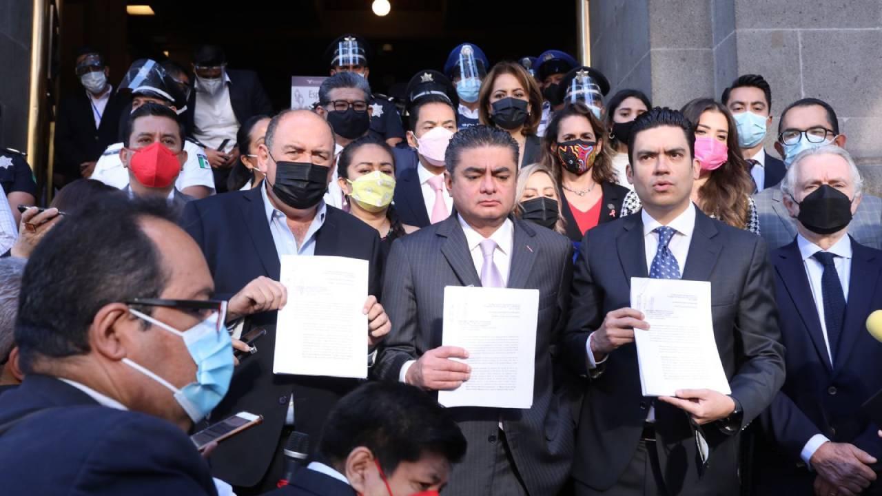 PAN, PRI y PRD impugnan la ley de revocación de mandato: no les gusta la pregunta