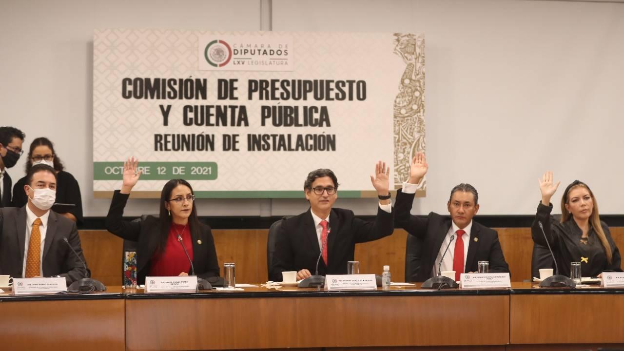 Los diputados instalan la comisión que analizará el presupuesto 2022