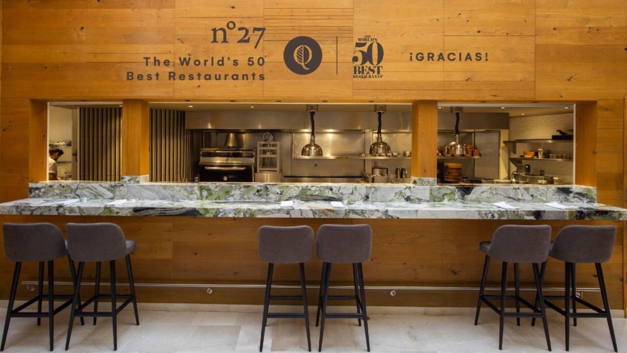 """Pujol y Quintonil, se """"sientan en el banquete"""" de los 50 mejores restaurantes del mundo"""