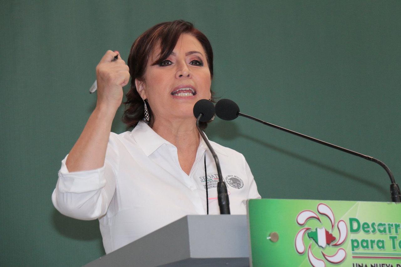 Rosario Robles desde la cárcel: 'No voy a salir acusando a otros con mentiras'