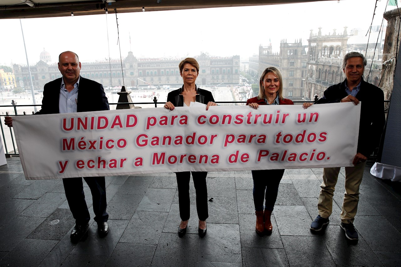 Candidatos únicos a la presidencia y CDMX, piden Gustavo de Hoyos y Claudio X. a la oposición